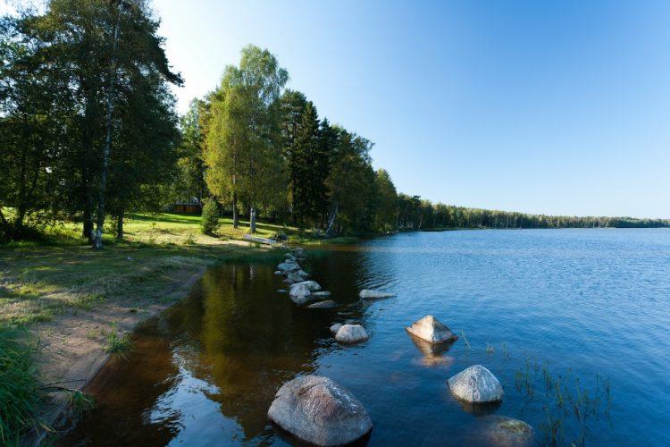 Озеро Красное — одно из самых любимых мест музыканта