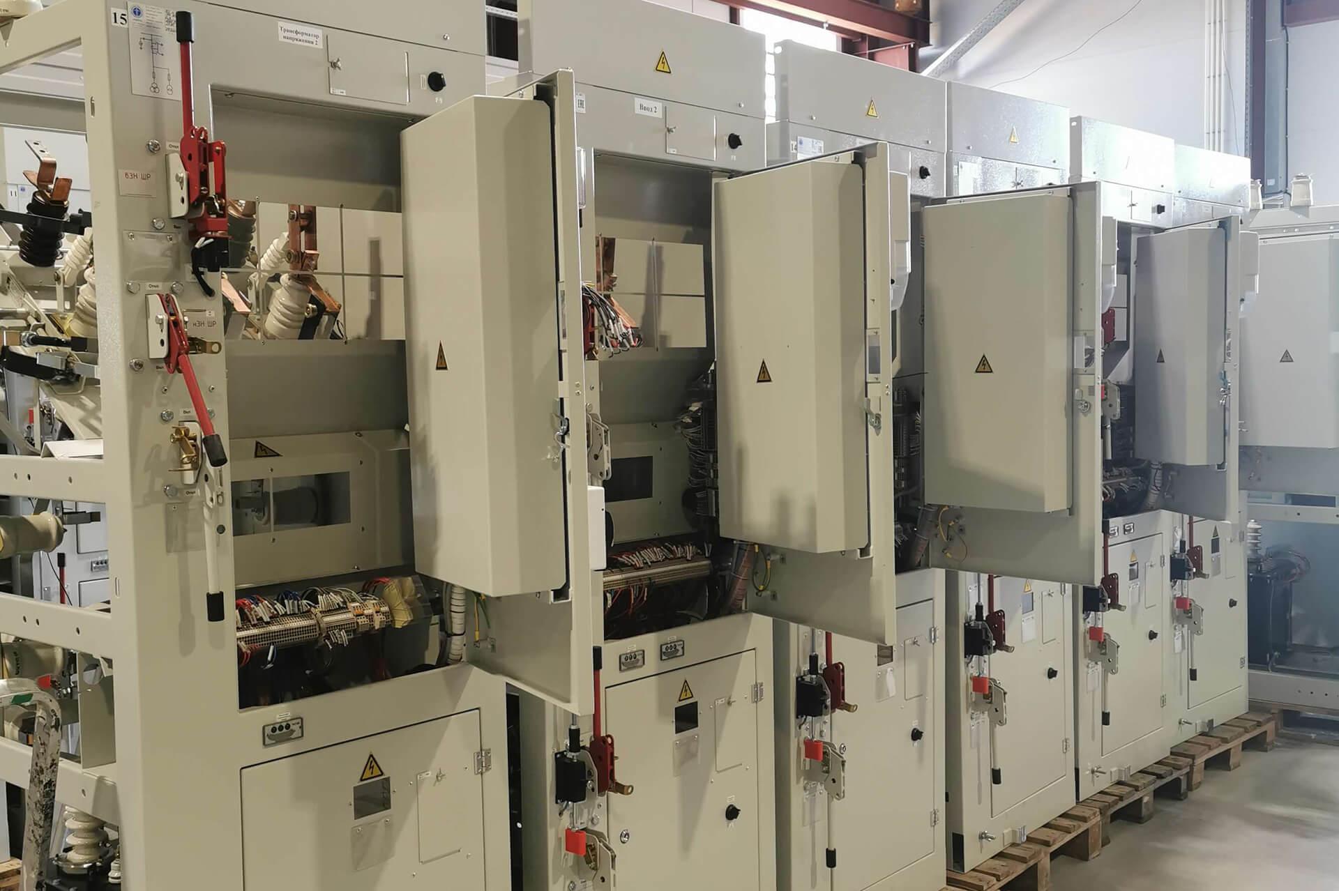 Блочная комплектная трансформаторная подстанция в бетонной оболочке