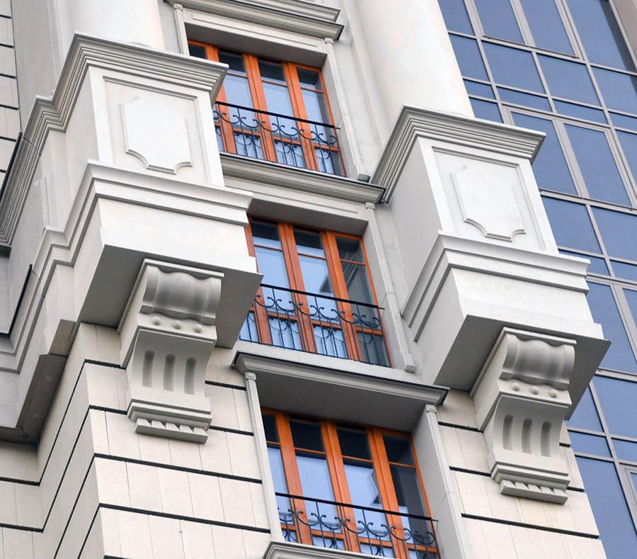 Оформление фасадов зданий инновационными облицовочными материалами
