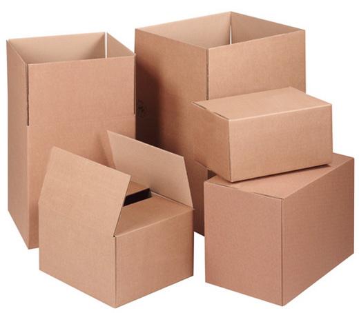 Картонные коробки и комплектующие к ним