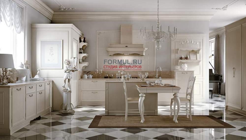 Кухня на заказ от известных поставщиков модной мебели