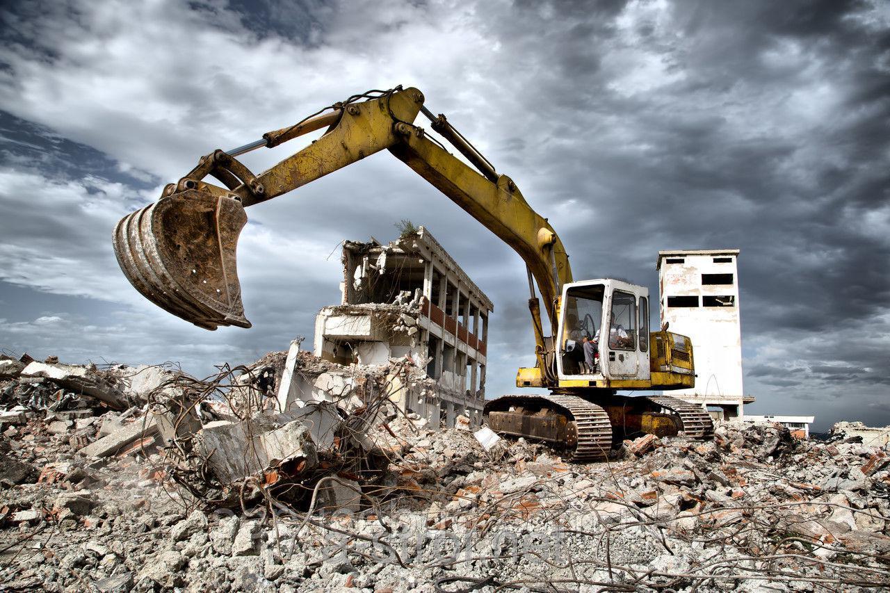 Профессиональный демонтаж от ручного до сноса заводов