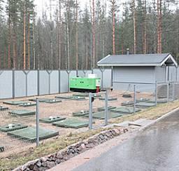 Канализационная система для частных домов и небольших посёлков
