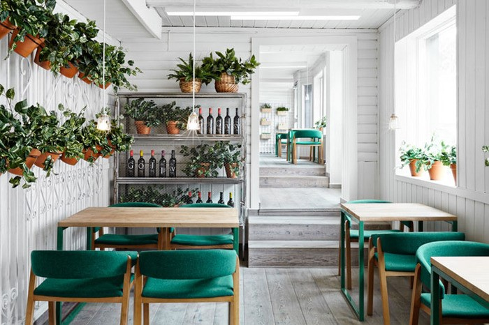 Интересные стили интерьера для маленького кафе