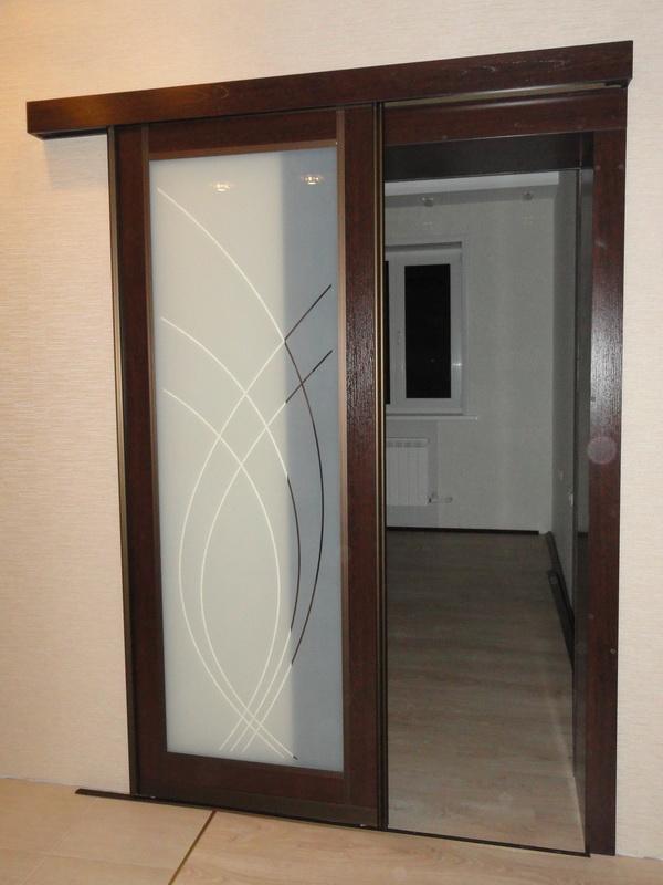 Двери купе в Минске с установкой