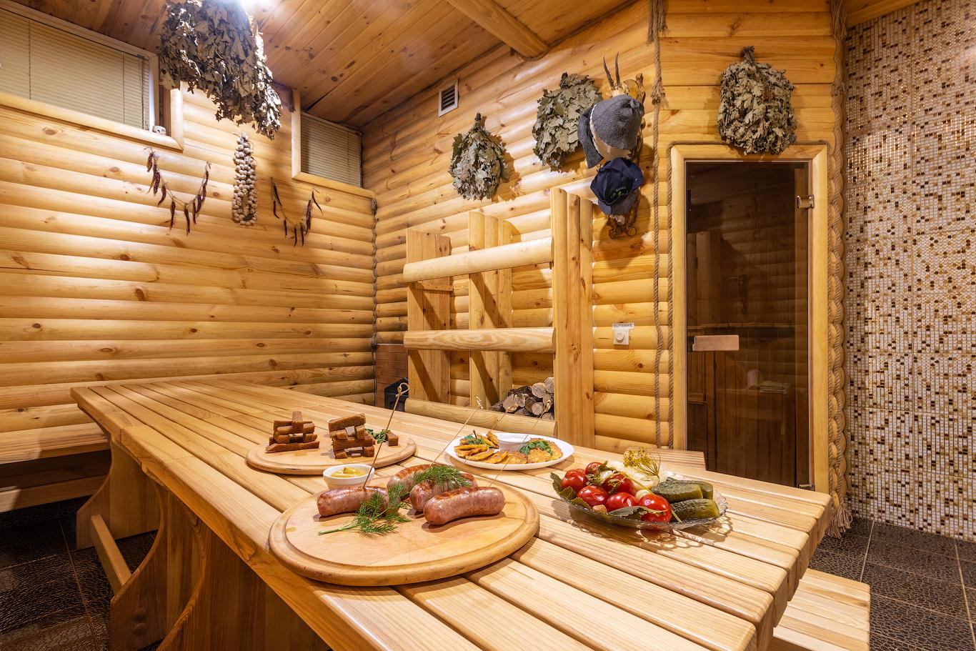 Проект дом-баня - отличное решение для загородного строительства